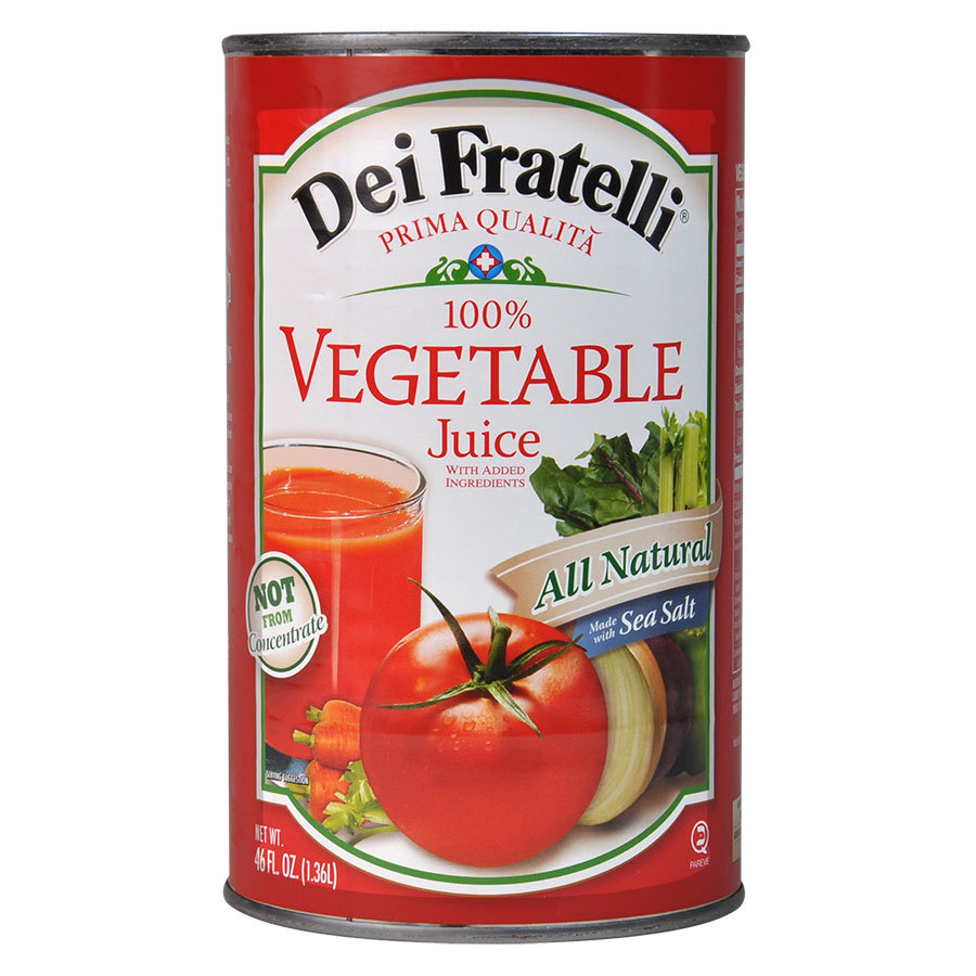 46 oz. Canned Vegetable Juice - 12/Case