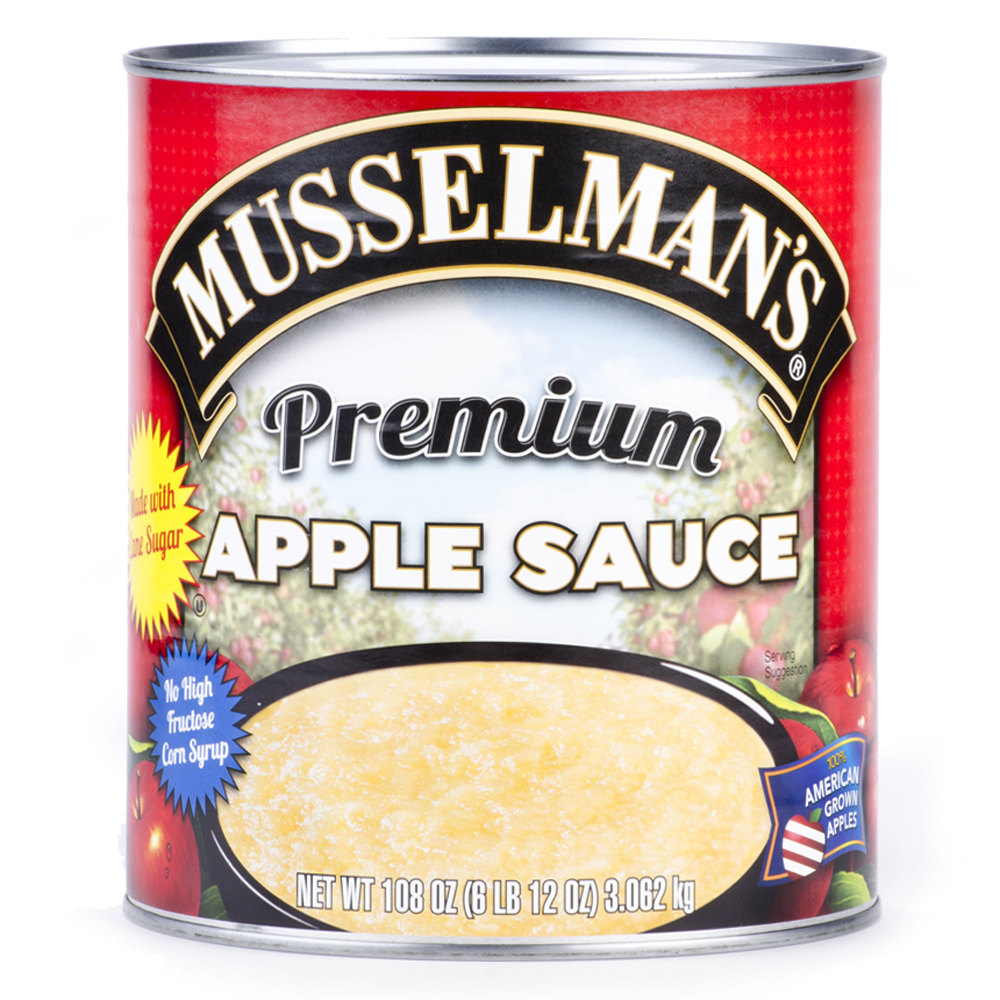 Musselman's Premium Blend Apple Sauce #10 Can