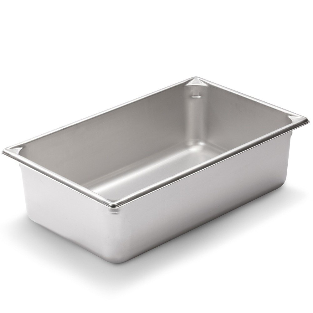 Vollrath Super Pan V 30062 Full Size Stainless Steel Anti-Jam Steam Table / Hotel Pan - 6 inch Deep