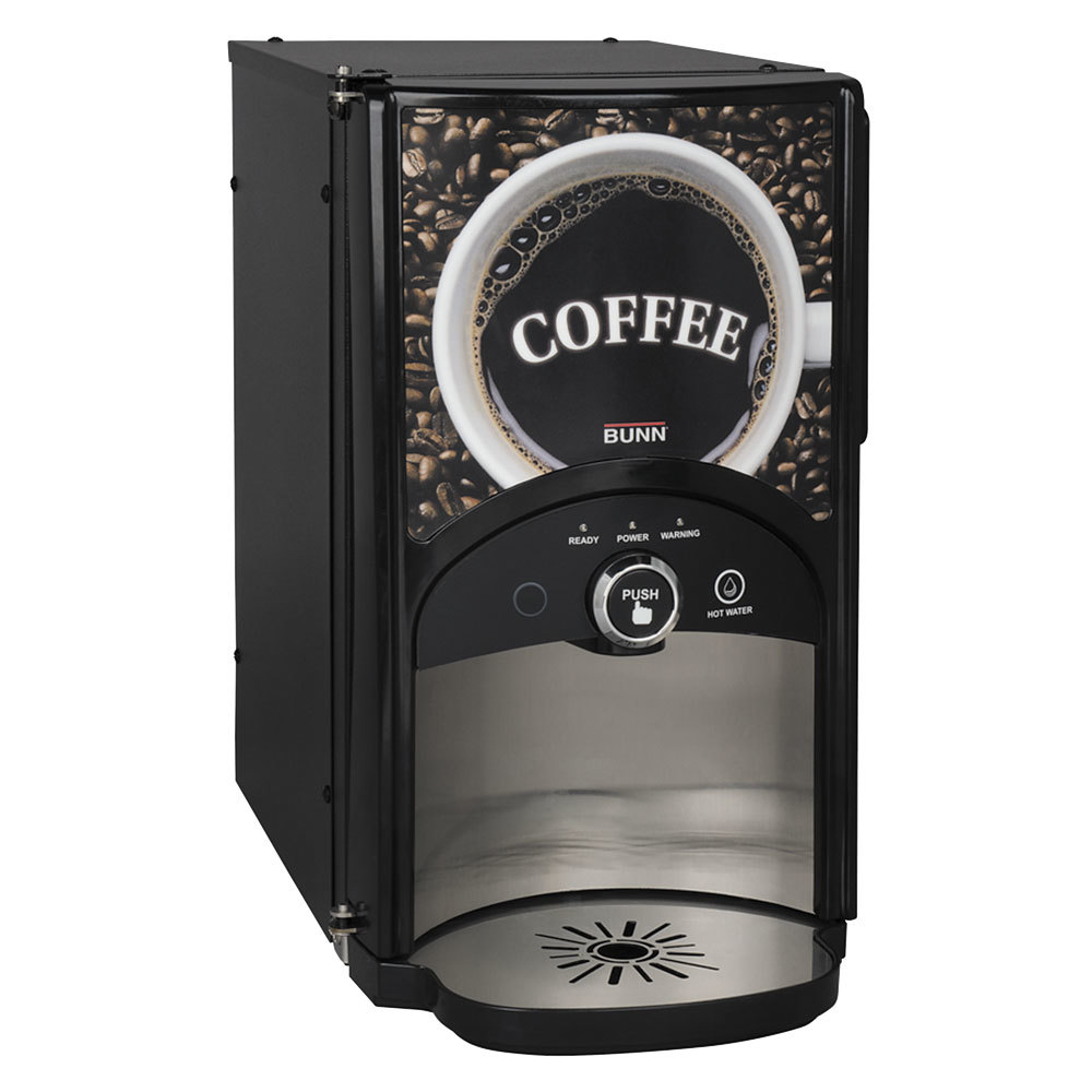 Bunn LCA-1 LP Low Profile Ambient Single Product Liquid Coffee Dispenser with Scholle 1910LX Connector - 120V (Bunn 44100.0000)