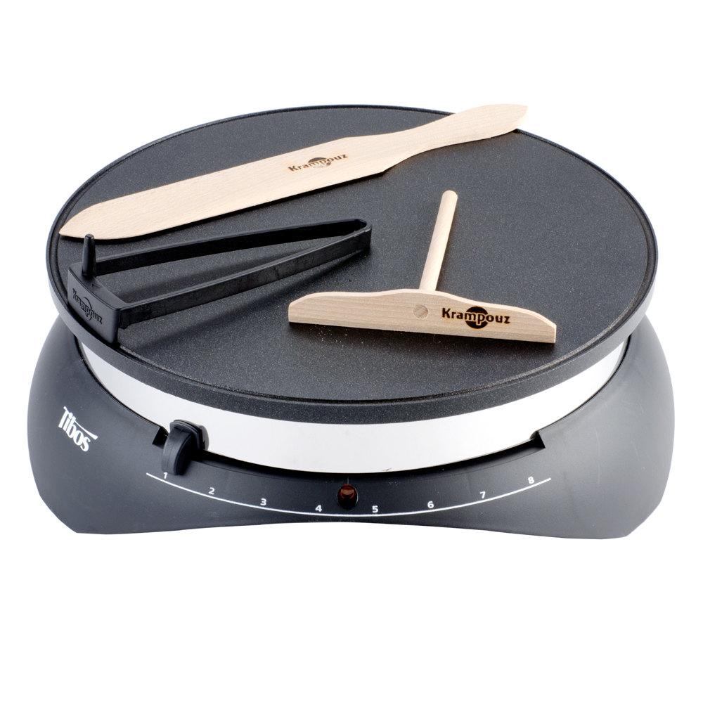 krampouz cebpb2 13 round electric single crepe maker 1300w 110v. Black Bedroom Furniture Sets. Home Design Ideas