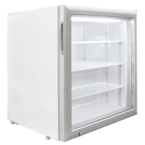 Excellence CTF-3 White Countertop Display Freezer with Swing Door - 3.2 cu. ft.
