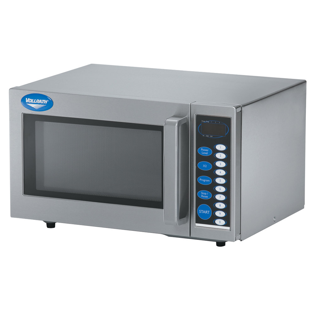 Vollrath 40819 Stainless Steel Commercial Microwave Oven