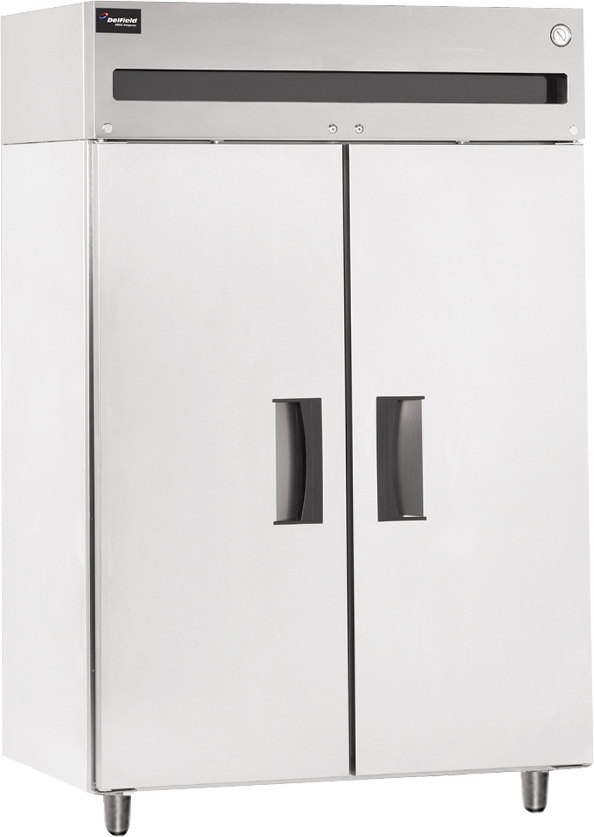 Delfield 6051XL-S 2-Door Reach-In Refrigerator - 115V