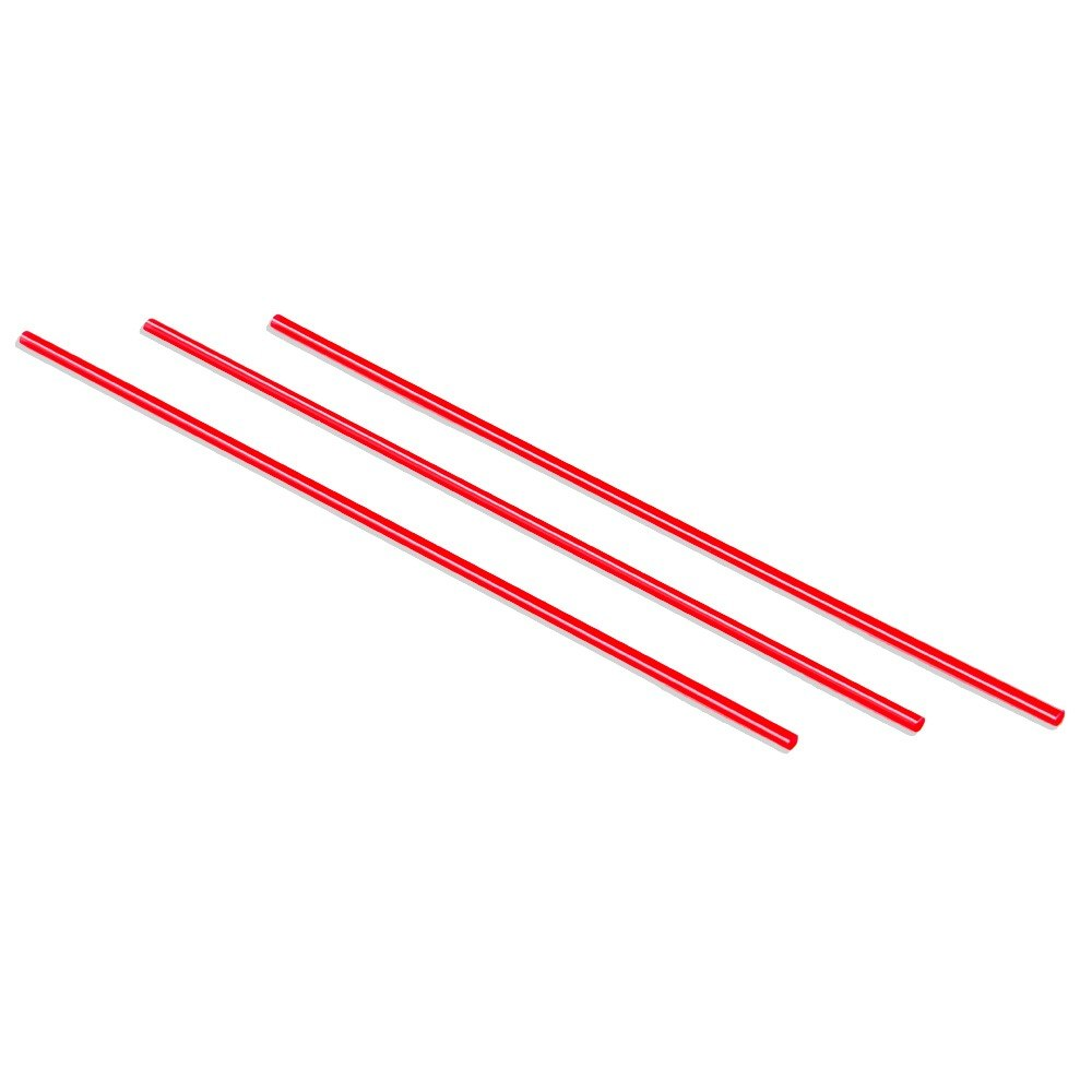 Choice 7 inch Red and White Coffee Stirrer 10,000 / Case