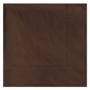 Hoffmaster 180354 Chocolate Beverage / Cocktail Napkin - 1000 / Case