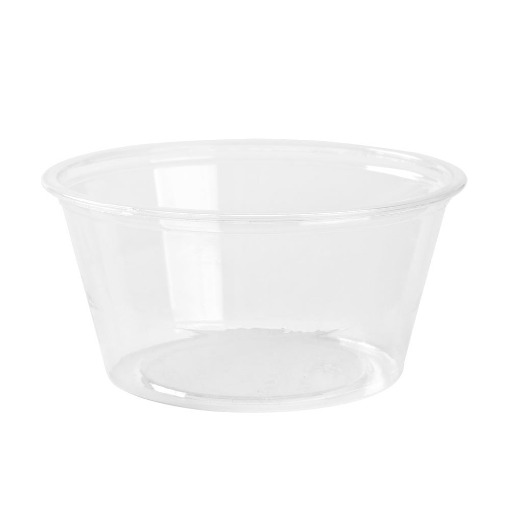 Fabri-Kal Greenware GPC200 2 oz. Customizable Clear Plastic Souffle / Portion Cup 2000 / Case
