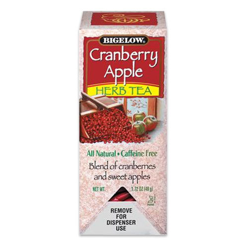 Bigelow Tea, Cranberry Apple Herb Tea 28 / Box