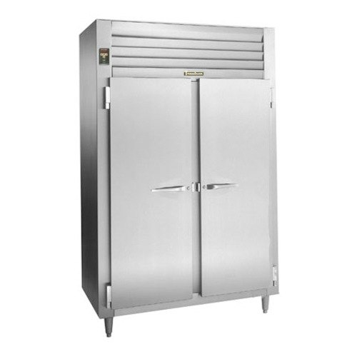 Traulsen RLT232WUT-FHS Stainless Steel 51.6 Cu. Ft. Two-Section Solid Door Reach-In Freezer - Specification Line