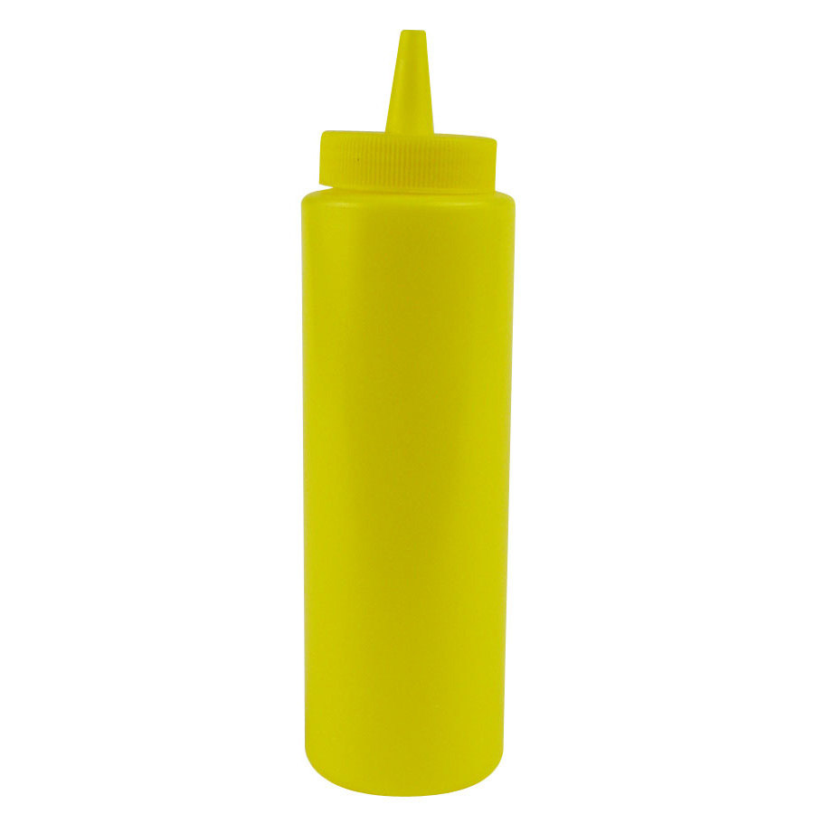8 oz. Squeeze Bottle Yellow