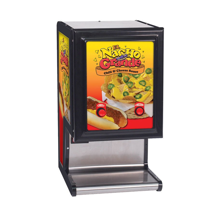 Gold Medal 5301 Dual Cheese and Chili Dispenser - 120V at Sears.com