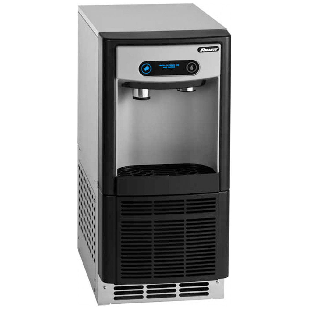 Follett 7 Series 7UC100A Undercounter Ice Maker and Water Dispenser Compressed Nugget Ice 7 lb. Storage 115V