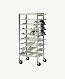 Advance Tabco CR10-162M Spec Line #10 Aluminum Can Rack Mobile - Full Size at Sears.com