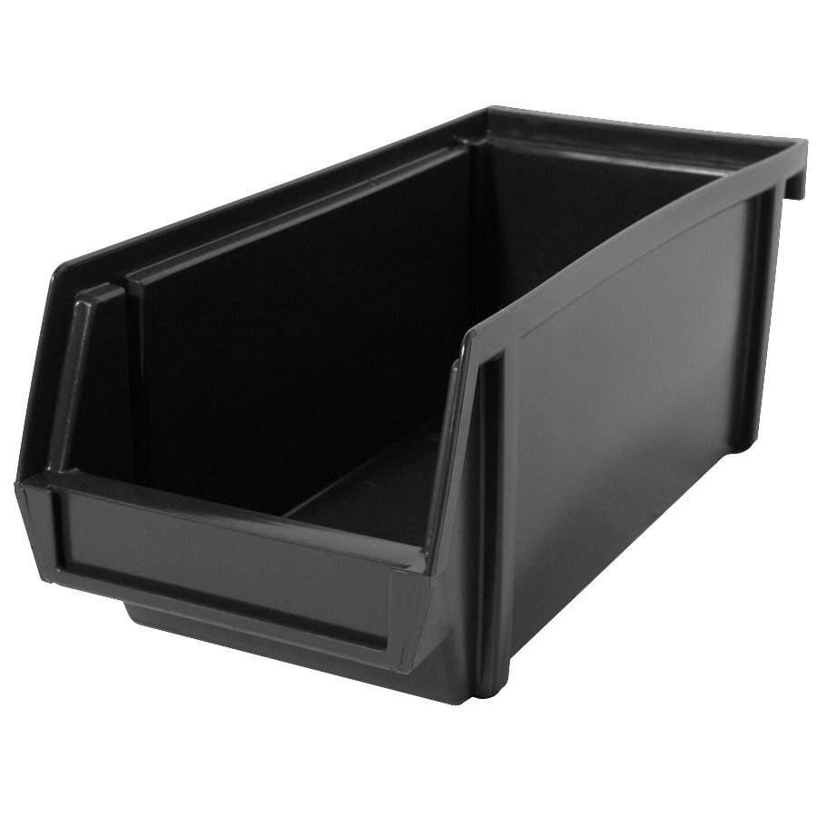 Traex 4804 Black Self-Serve 8 inch Condiment Bin
