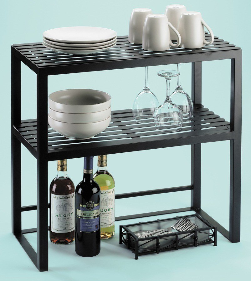 Cal Mil 1254 Two Tier Iron Serving Hutch