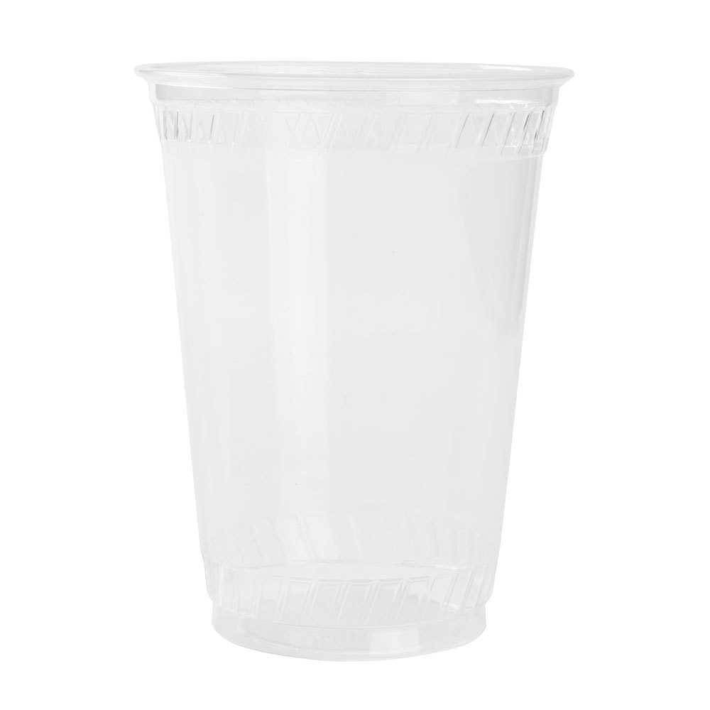 Fabri-Kal Greenware GC24 24 oz. Clear Plastic Compostable Cold Cup 25 / Pack