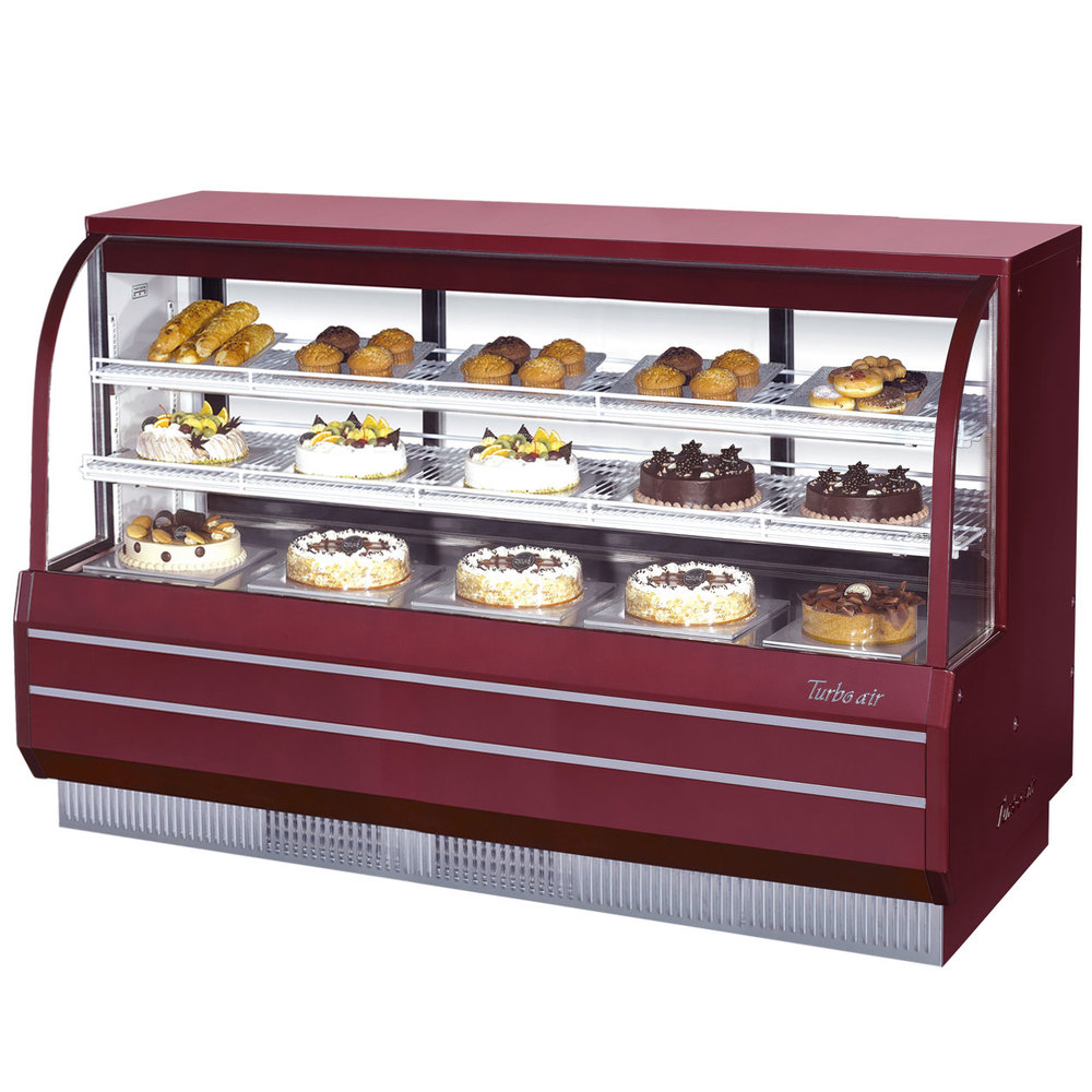 Turbo Air Tcgb 72 2 Red 72 1 2 Quot Curved Glass Refrigerated
