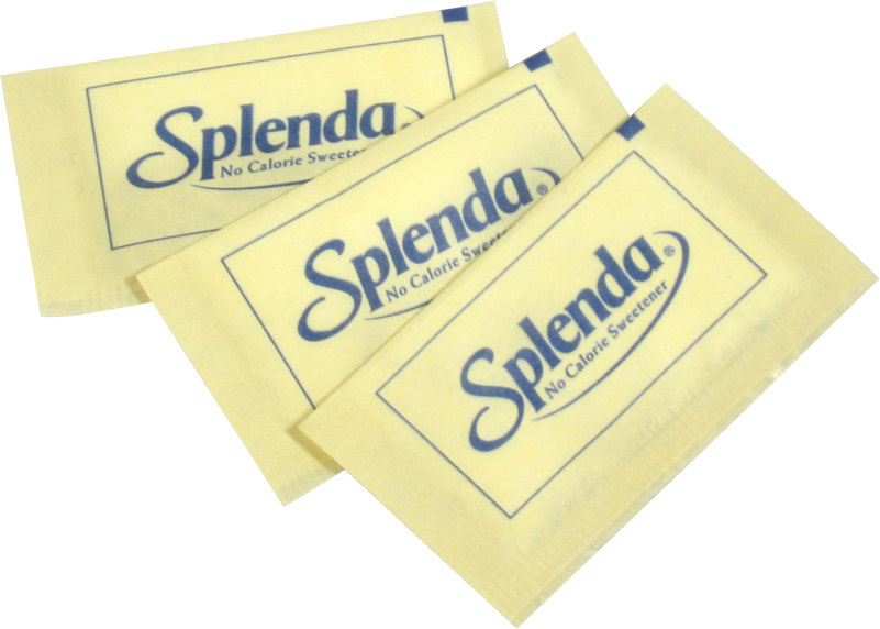 Splenda No Calorie Sweetener Packet 2000 / Case