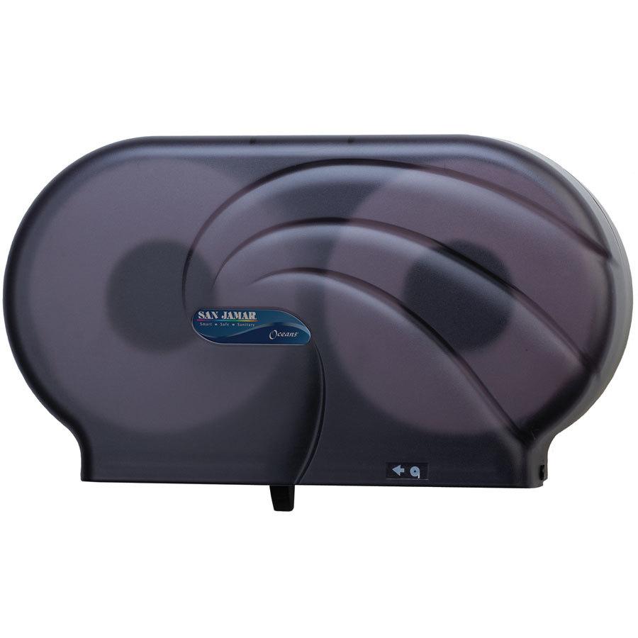 San Jamar R4090tbk Twin Oceans 9 Quot Double Roll Jumbo Toilet