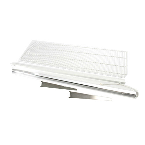 "True 883579 White Coated Wire Shelf with Light - 71 3/8"" x 22 1/2"""