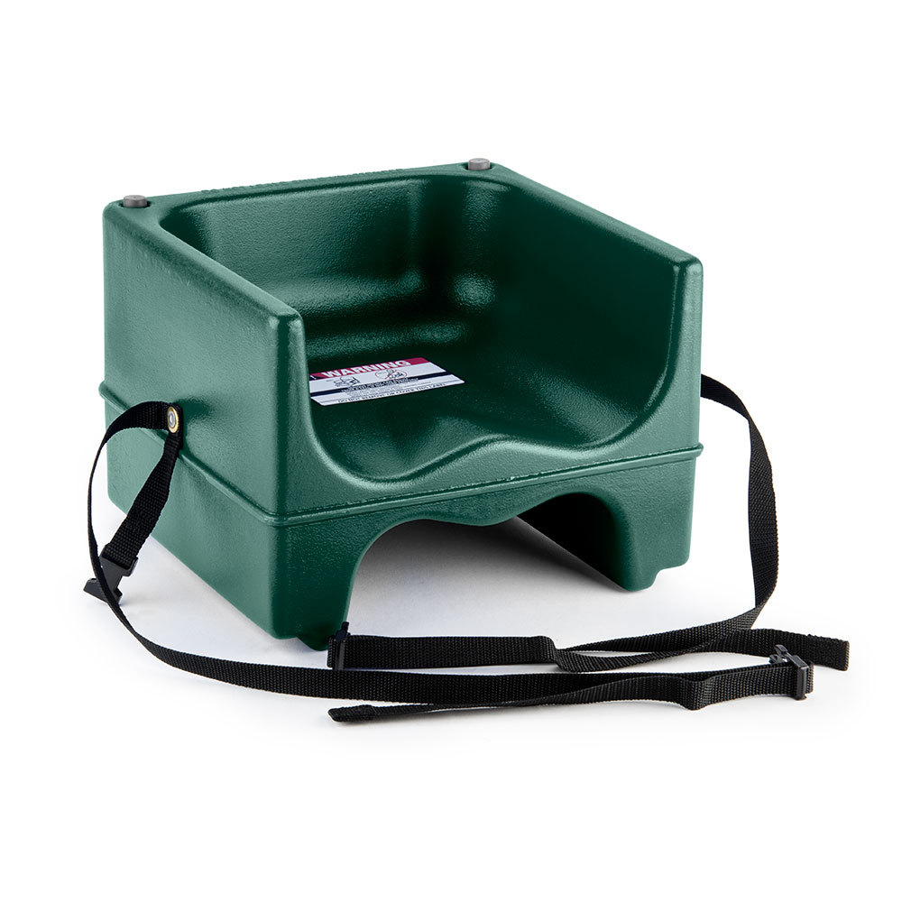 Cambro 200bcs Dual Seat Booster Chair With Strap Green