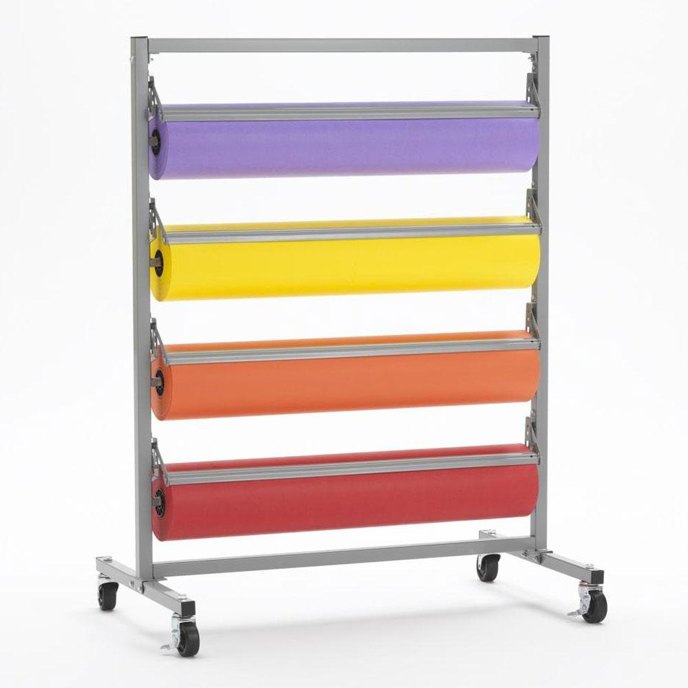 "Bulman Products Inc. Bulman T344R-20 20"" Four Deck Tower Paper Rack with Serrated Blade at Sears.com"