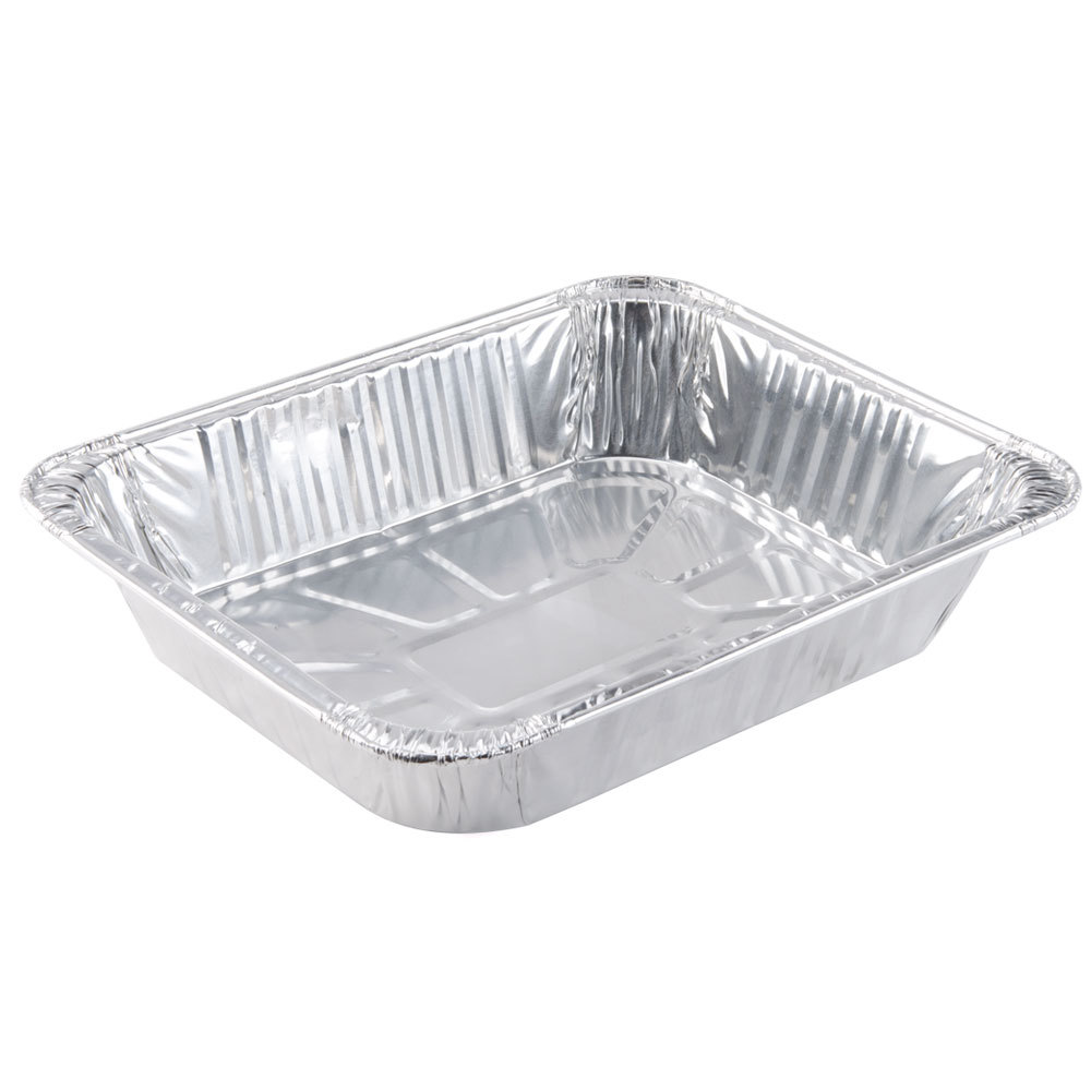 Choice 1/2 Size Foil Steam Table Pan 2 9/16 inch Deep 100/Case