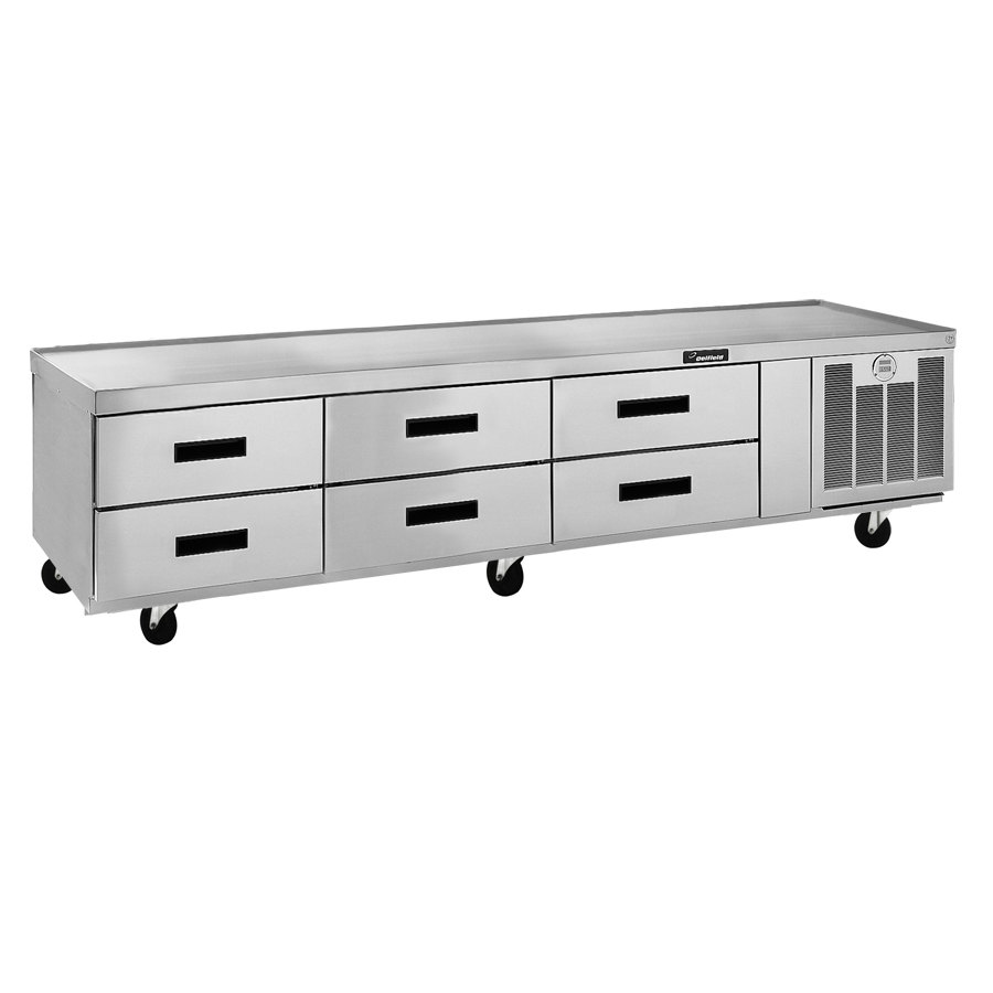 "Delfield F2999C 99"" Six Drawer Refrigerated Chef Base"