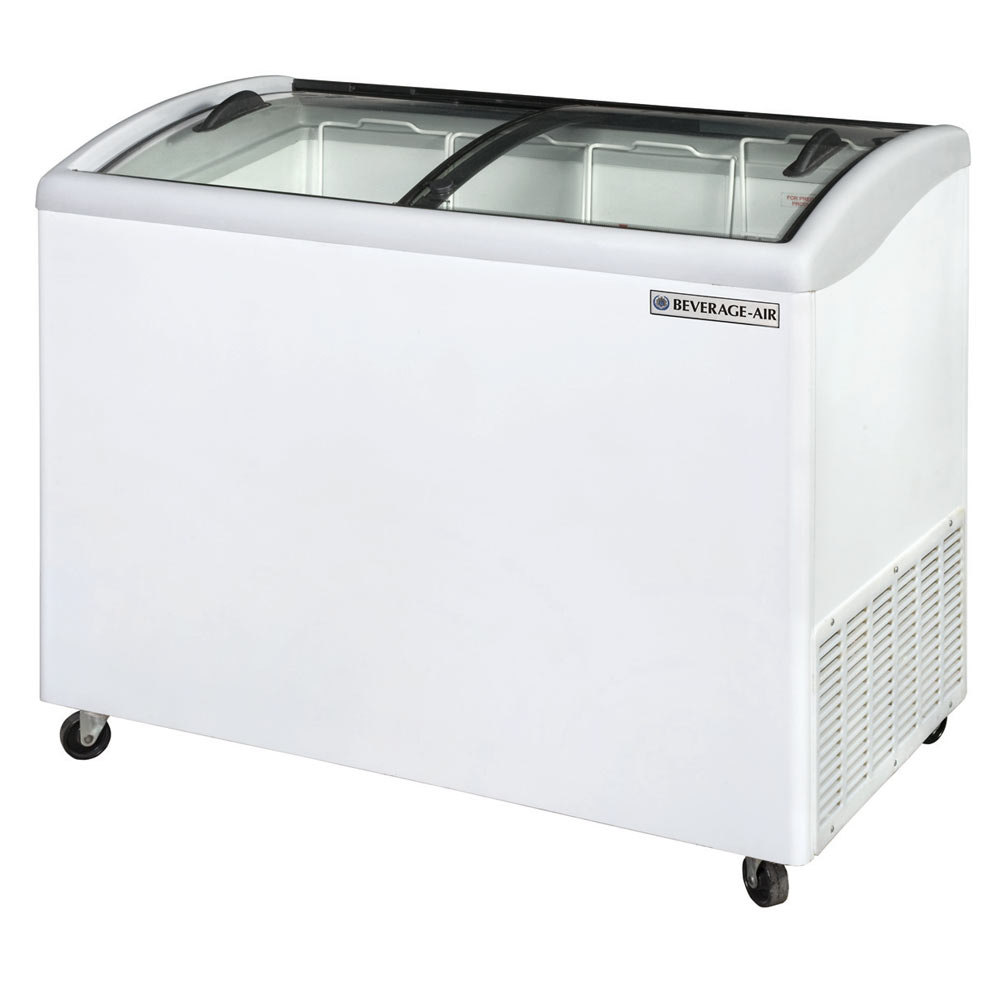 Beverage Air Nc43 1 W Curved Lid Display Freezer Novelty