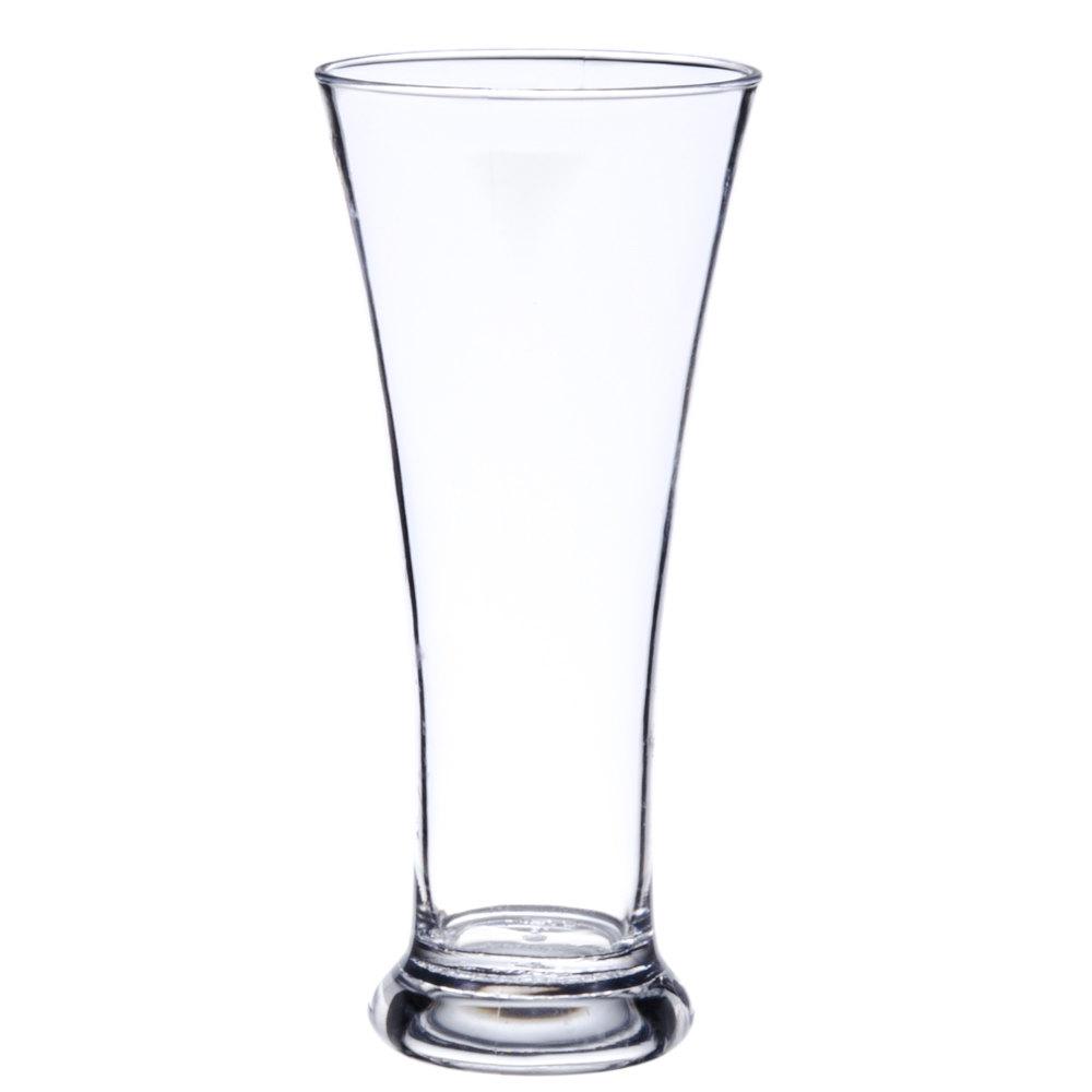 Get P 12 P12 12 Oz Customizable San Plastic Pilsner Glass