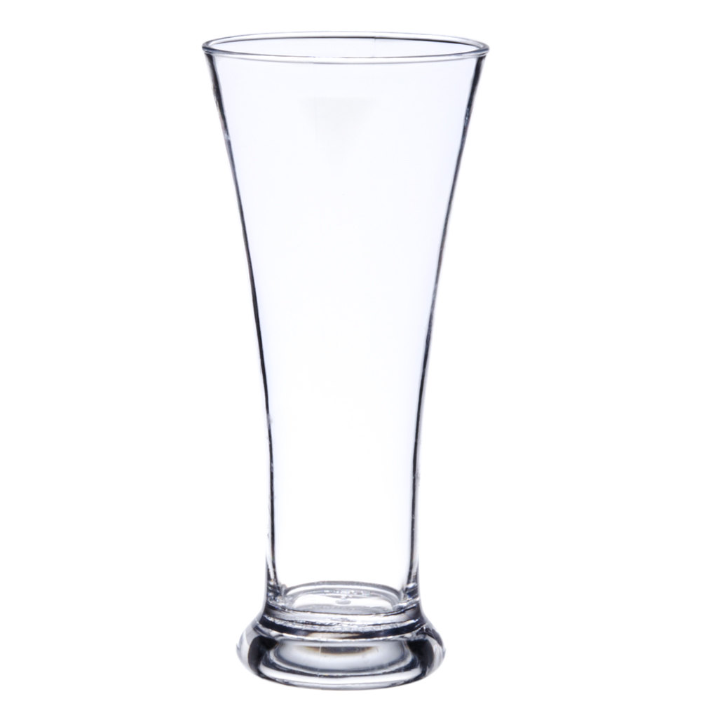 Get P 12 P12 12 Oz San Plastic Pilsner Glass