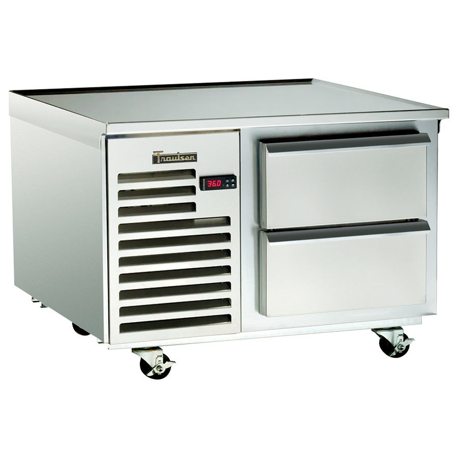 "Traulsen TE036HT 2 Drawer 36"" Refrigerated Chef Base - Specification Line"