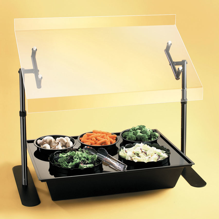 Cal Mil 728-13 Salad Bar Food Station 26 inch x 18 inch x 4 inch