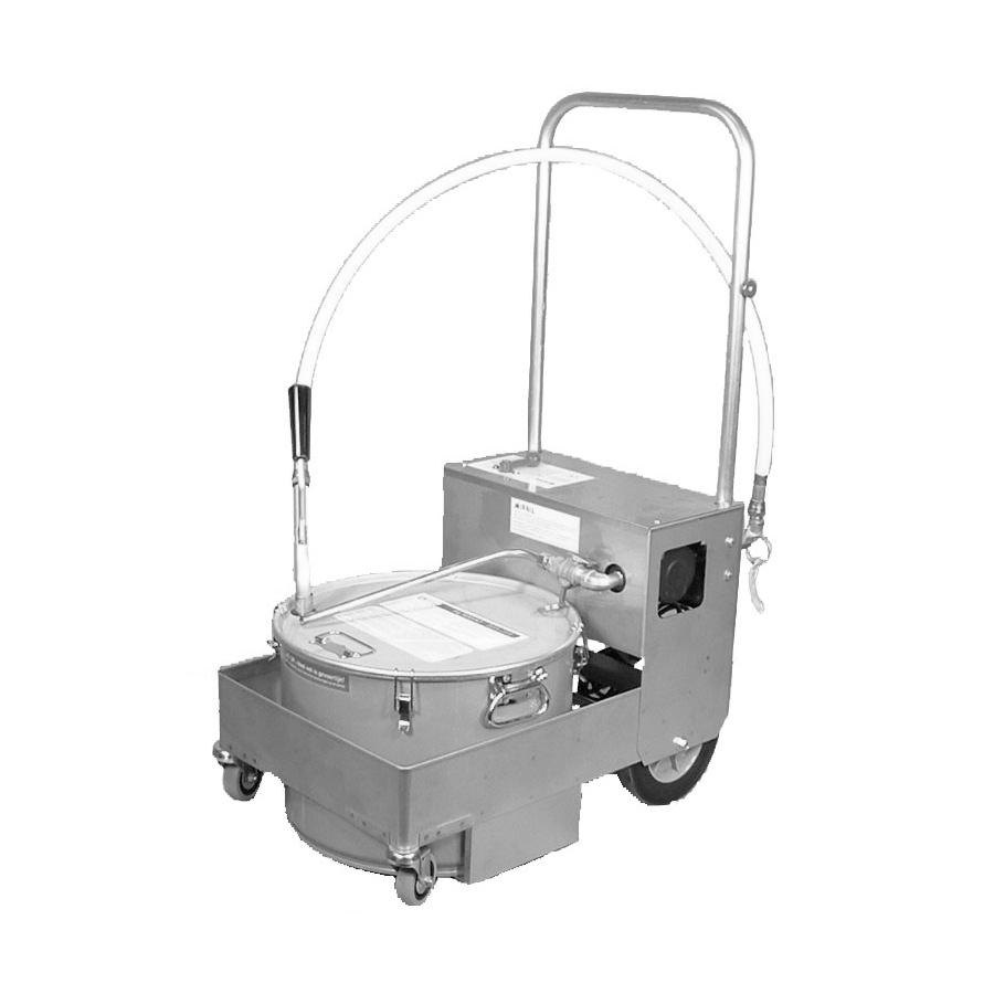Miroil Bs707d 75 Lb Fryer Oil Electric Filter Machine And