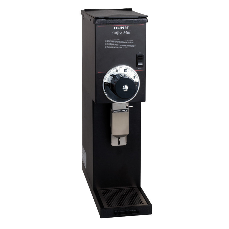 Bunn 22102.0000 G2 HD 2 lb. Black Bulk Coffee Grinder