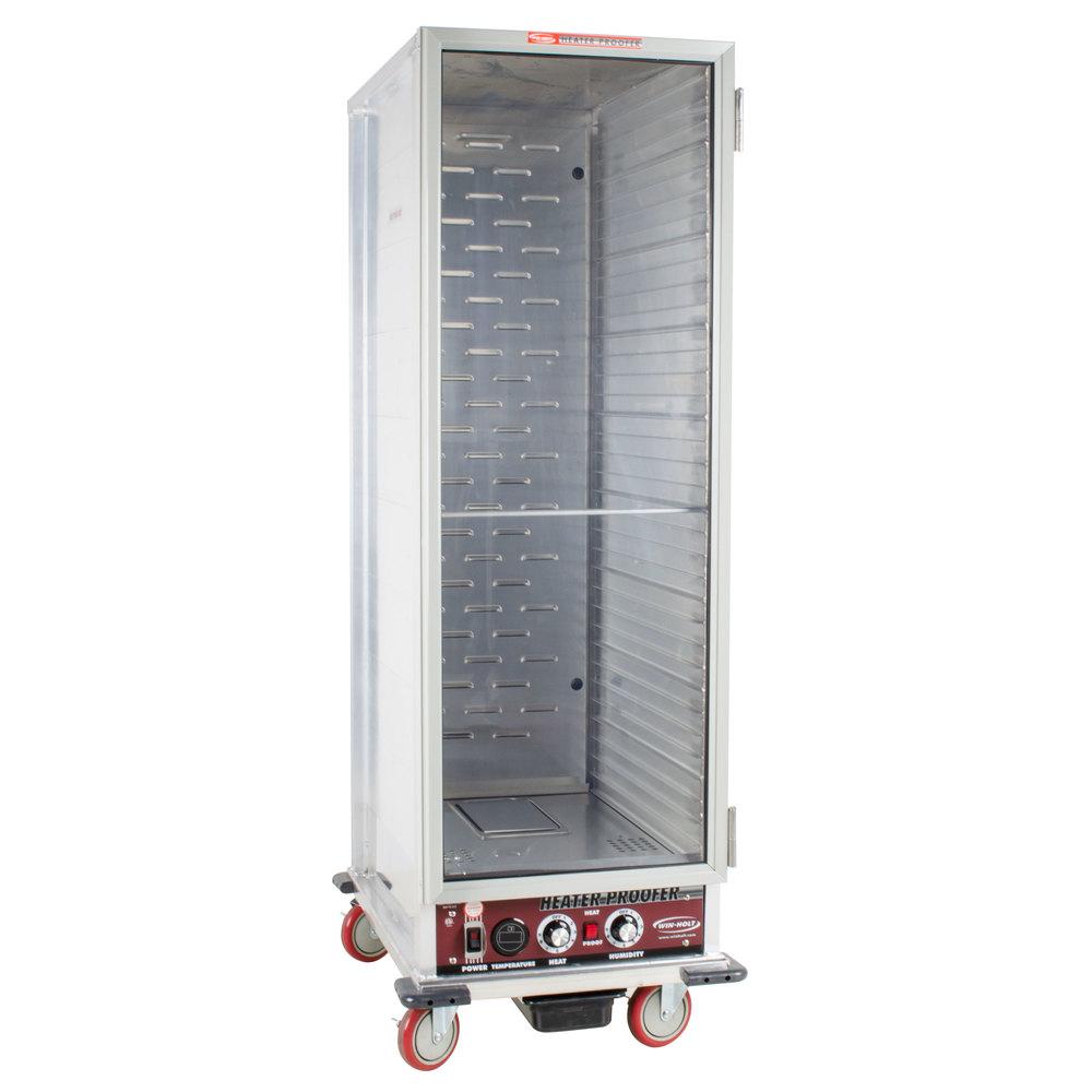 Winholt Nhpl 1836 Heater Proofer Mobile Cabinet Clear