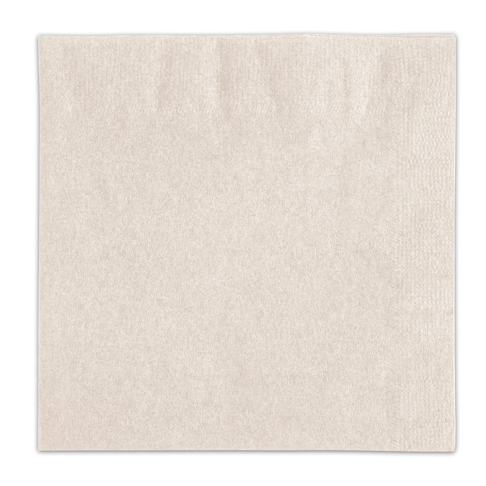 Choice Ecru / Ivory Beverage / Cocktail Napkin - 250 / Pack