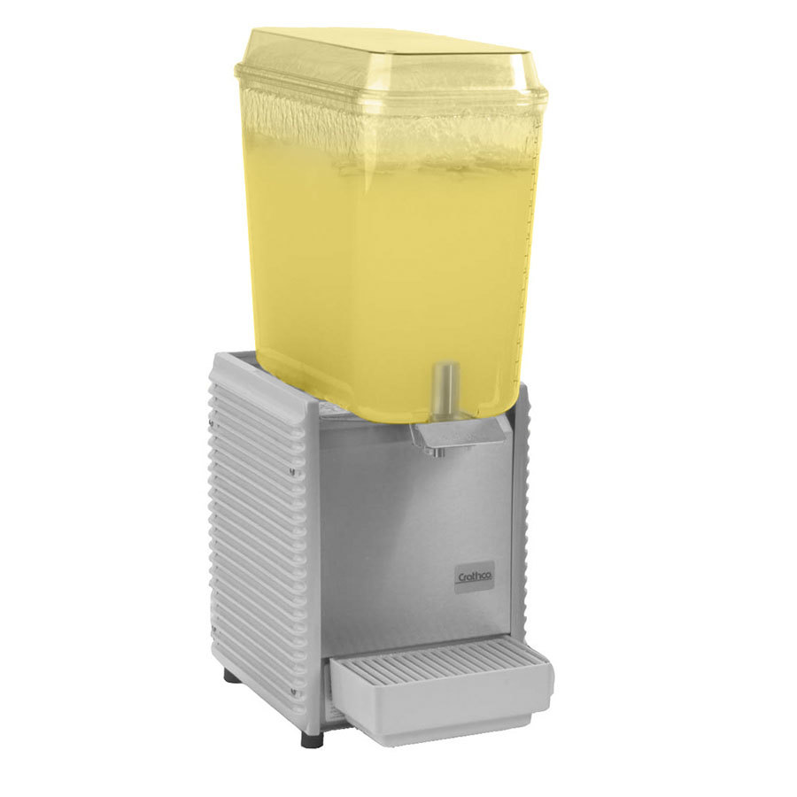 Crathco D15-3 Single Bowl 5 Gallon Refrigerated Beverage Dispenser