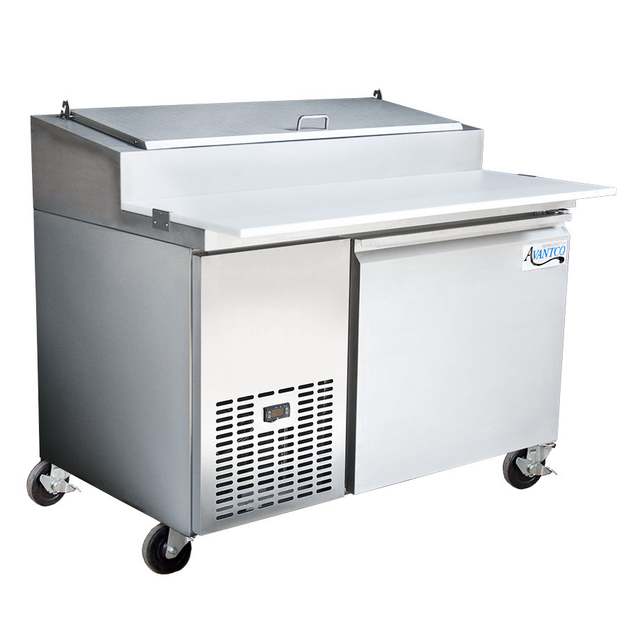 Avantco PICL1 50 inch Refrigerated Pizza Prep Table