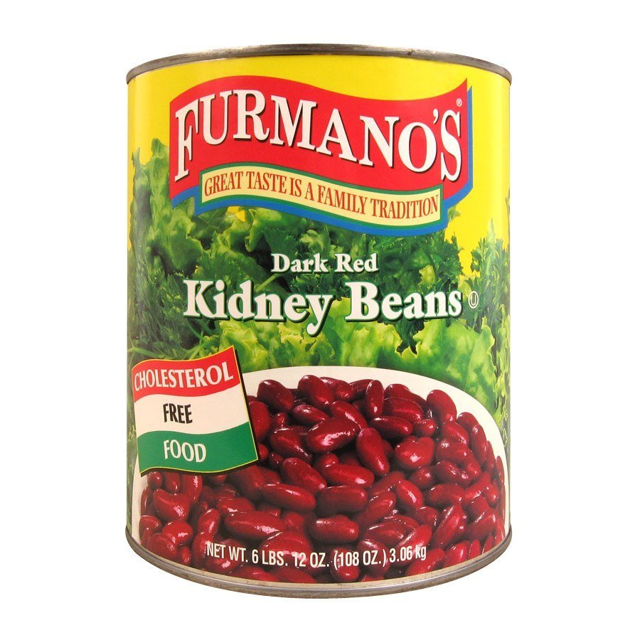 Furmano's Kidney Beans (Dark Red - in Brine) - #10 Can