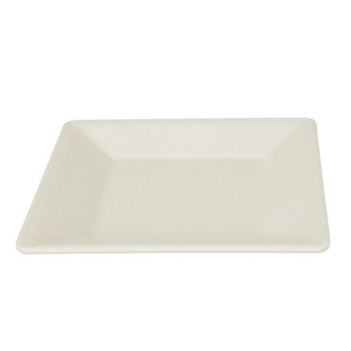 "Thunder Group PS3204V Passion Pearl 4"" Square Plate - 12/Pack"