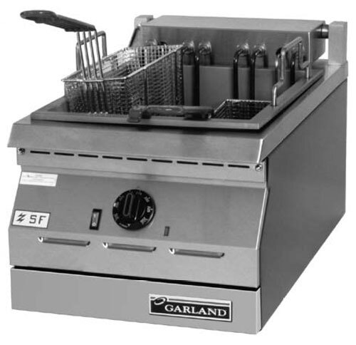 Garland / US Range 240V 3 Phase Garland ED-15F Designer Series 17 lb. Electric Commercial Countertop Deep Fryer at Sears.com
