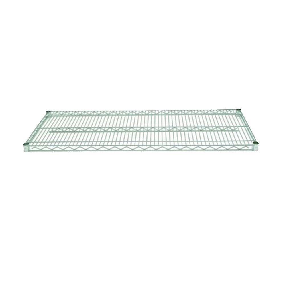 Advance Tabco EG-1830 18 inch x 30 inch NSF Green Epoxy Coated Wire Shelf