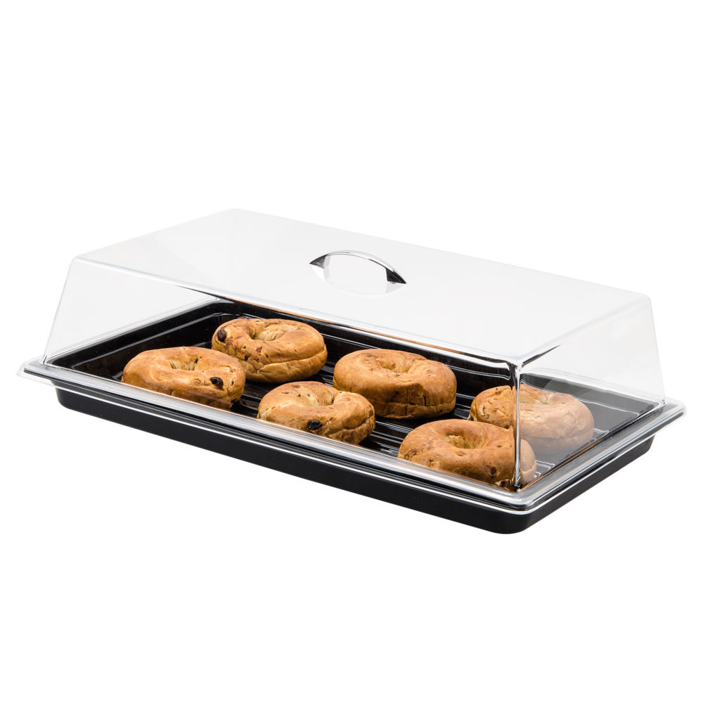 "Carlisle SC2707 12"" x 20"" x 4"" Rectangular Pastry Tray Cover"