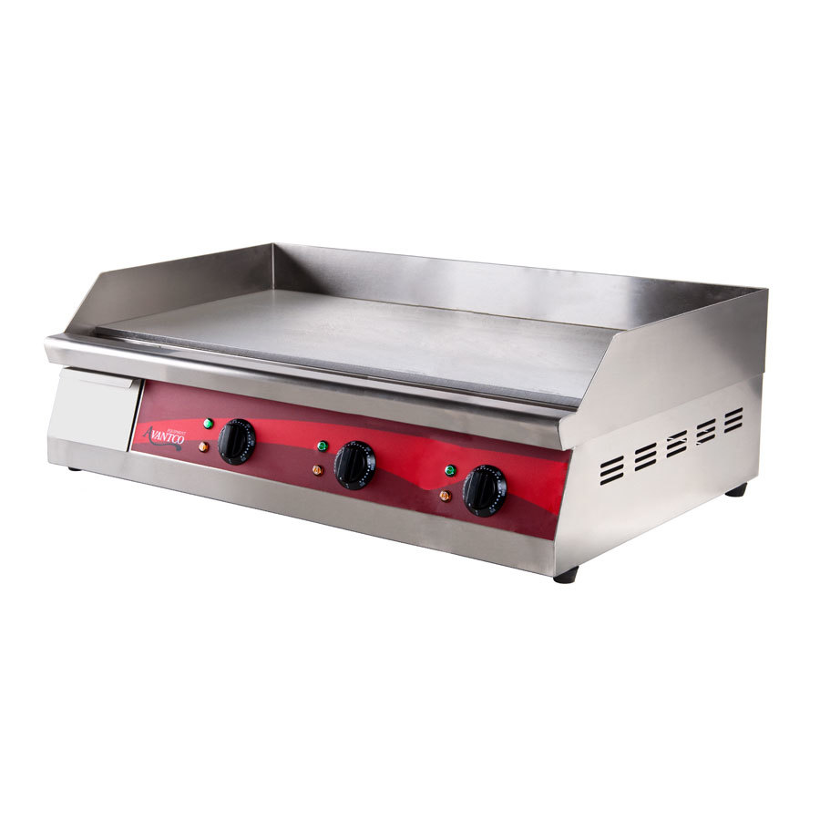 Avantco EG30 30 inch Electric Countertop Griddle - 208/240V