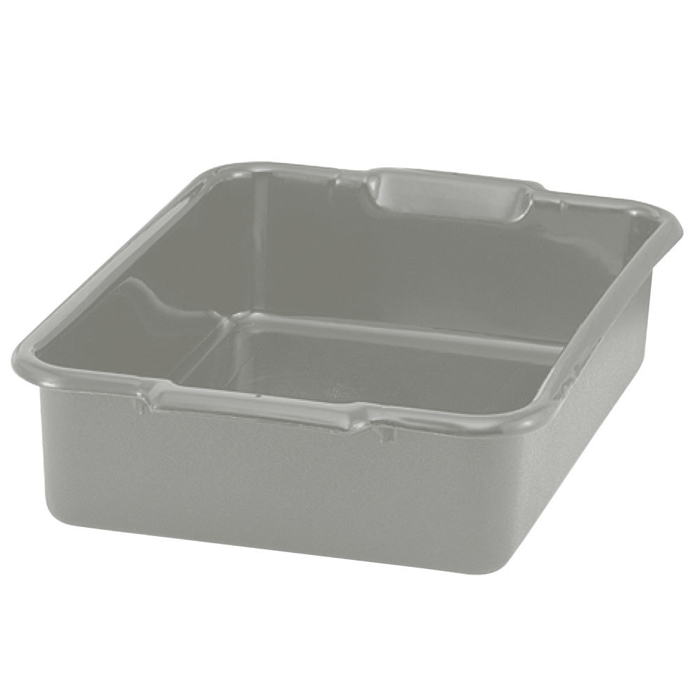 "Vollrath 52621 20"" x 17"" x 5"" Polyethylene Plastic Bus Tub, Bus Box"
