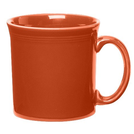 Homer Laughlin 570334 Fiesta Paprika 12 oz. Java Mug - 12 / Case