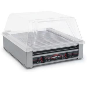 Nemco 8045W Wide Hot Dog Roller Grill - 45 Hot Dog Capacity (120V)
