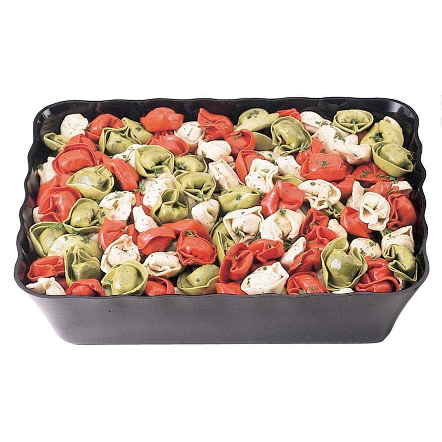 Cambro Sfr1012110 Black Showfest Rectangular Serving Bowl