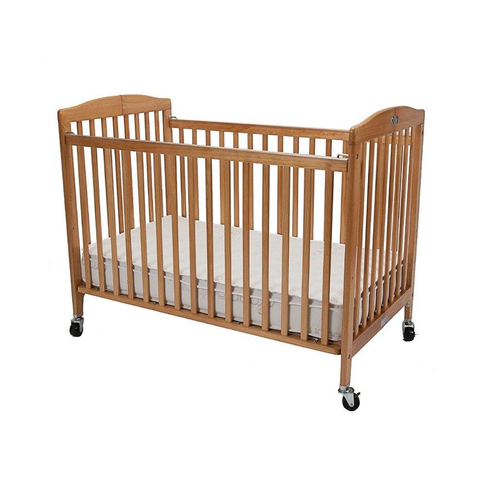 l a baby cs 983 a n 28 quot x 52 quot wood folding crib